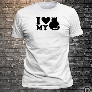 I ❤ MY CAT TEE